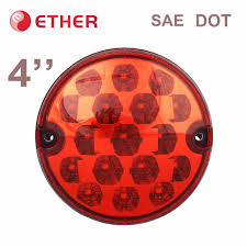 4 inch round led tail lights round led tail lights hommum com