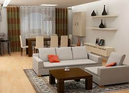 Dining Room With Living Room by Elegant Neutral Living Room