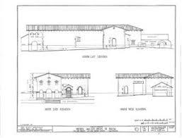Chapel Floor Plans And Elevations Mission San Luis Obispo De Tolosa Gallery Citizendium