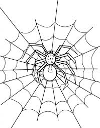 halloween spider web coloring pages coloring page art