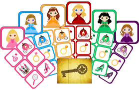 princess party scavenger hunt printable game