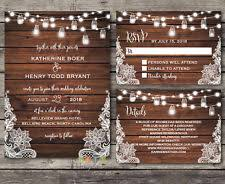rustic wedding invitations cheap rustic wedding invitations ebay