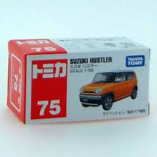 suzuki box truck amazon com tomica no 75 suzuki hustler box automotive