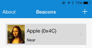 android beacon ios android beacon app does the company identifier filters the