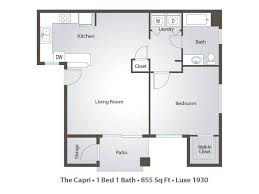 2 bedroom apartment floor plans u0026 pricing u2013 luxe 1930 mesa az