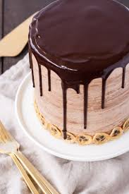 nutella banana cake with hazelnut meringue liv for cake