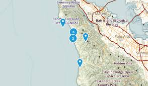 california map half moon bay best trails near half moon bay california 351 photos 276