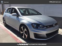 volkswagen models new volkswagen golf gti at volkswagen south coast serving los