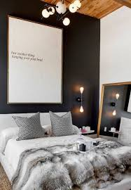 Master Bedroom Art Above Bed Pinspiration Cozy Up With This Fall Apartment Decor Inspiration