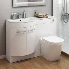 Bathroom Vanity Units With Basin by 1200mm Left Hand Modern Bathroom Gloss White Basin Toilet Vanity
