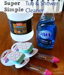 Vinegar Bathroom Cleaner Best 25 Tub Cleaner Ideas On Pinterest Shower Cleaning Best