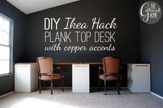 forty two roads hacking ikea office ikea hack desk desk idea in apartment since both kevin