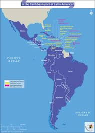 Central America And Caribbean Map by Is The Caribbean Part Of Latin America Answers