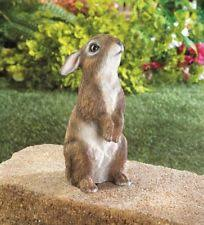 rabbit garden standing bunny rabbit statue figurine garden decor 10017886 ebay