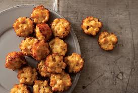 baked canapes mac and cheese canapés recipe macs cheese and food