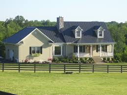 Blue Gray Exterior Paint Burnished Slate Metal Roof Houses Barns Home Metal Roofing Steel