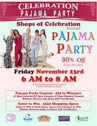 black friday sale pajama 2012 celebration town center florida