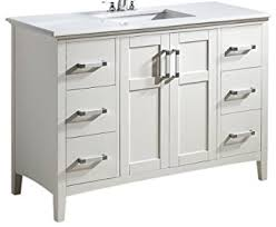 Bathroom Vanity With Top by Simpli Home Winston 48