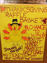 thanksgiving basket raffle berks county libraries