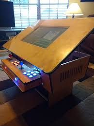 coffee table game console retro arcade game coffee table made by one of our members great for