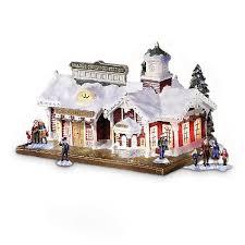 thomas kinkade christmas village infobarrel
