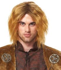 blonde wig halloween costume mens medieval king wig honey blonde halloween costume