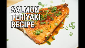 Asian Home Gourmet Salmon Teriyaki With Homemade Sauce Belly On A Budget Episode 10