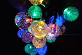 Solar Outdoor Christmas Tree Lights by Wishworld Outdoor Christmas Solar String Lights 21 Ft 30 Leds