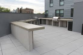 Concrete Table And Benches Custom Concrete Benches Fit Pit Seating Concrete Bar Grill At