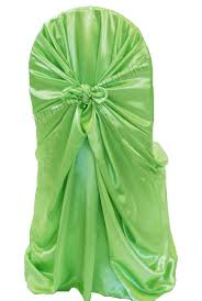 universal chair covers apple green satin universal self tie chair covers wholesale