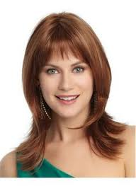wigs medium length feathered hairstyles 2015 human hair lace wig mixed color natural straight 10 inches get