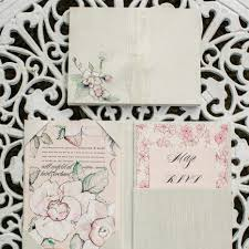 Handmade Wedding Invitation Cards 2016 Trends Big Floral Wedding Invites Are Back Momental