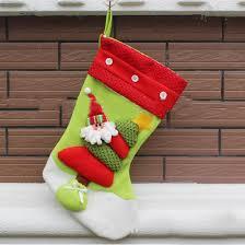 new year lovely vintage snowman bag gift sock