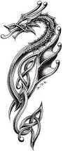 the 25 best celtic dragon tattoos ideas on pinterest celtic