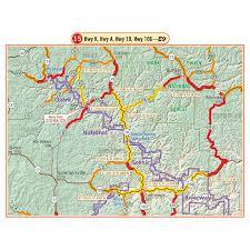 ozarks map ozarks g1 map butler motorcycle maps