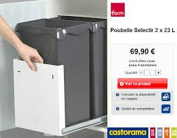 poubelle de cuisine tri selectif poubelle de cuisine tri selectif poubelle coulissante litres with