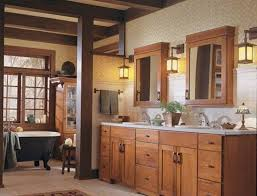 Mission Vanity Rustic Bathroom Vanity Cabinets Mission Style With Double Sinks
