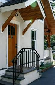 Cool Awnings Living Room Awesome Front Door Overhang Styles Awning Plans Cool