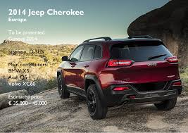 european jeep wrangler the new jeep cherokee takes a ride in europe fiat group u0027s world