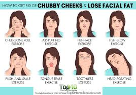 how to make a double chin look less noticable eith hair how to get rid of chubby cheeks and lose facial fat top 10 home