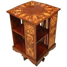 Revolving Bookcases Arts And Crafts Mahogany Revolving Bookcase By Shapland And Petter