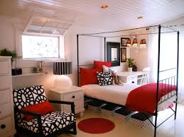 black and white and red bedroom ideas white tile floor cool lina