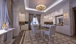 beautiful dining room design with unique flooring orchidlagoon com