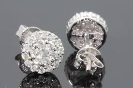 real diamond earrings inspirational diamond earrings studs for women pesquisademercado