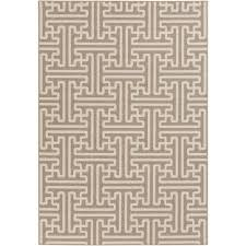 What Is An Indoor Outdoor Rug by Foss Hobnail Taupe 6 Ft X 8 Ft Indoor Outdoor Area Rug