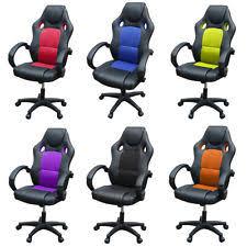 Armchair Racing Bucket Seat Office Chair Ebay