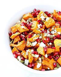 pomegranate sweet potato salad lichty food