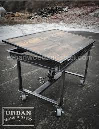 Drafting Table Design Plans Best 25 Industrial Drafting Tables Ideas On Pinterest Drawing