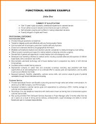 exle resume summary of qualifications 9 highlights of qualifications resume type