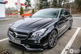 mercedes cl 2015 mercedes cls 63 amg x218 shooting brake 2015 25 march 2015